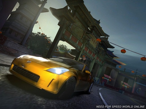 Need for Speed Shift, Nitro, World Online