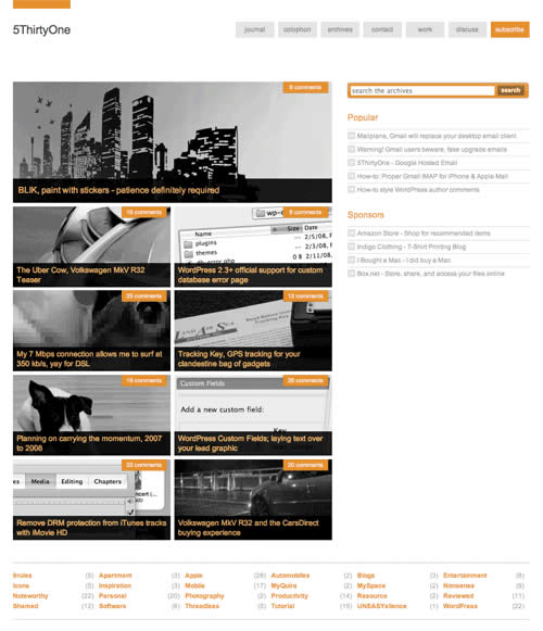 Bedava Premium WordPress Tema - The Unstandard